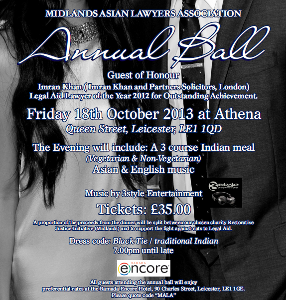 The 2013 MALA Annual Ball